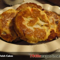 Wartime Welsh Cakes