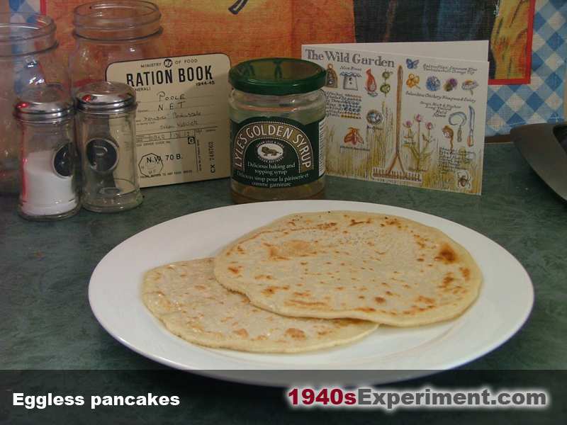 Pancake Day Wartime Eggless Pancakes The 1940 S Experiment