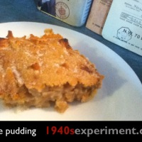 Apple pudding No 105