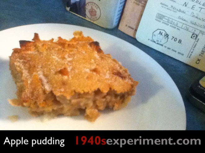 1940sapplepudding
