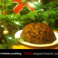 Eggless Christmas Pudding No 102
