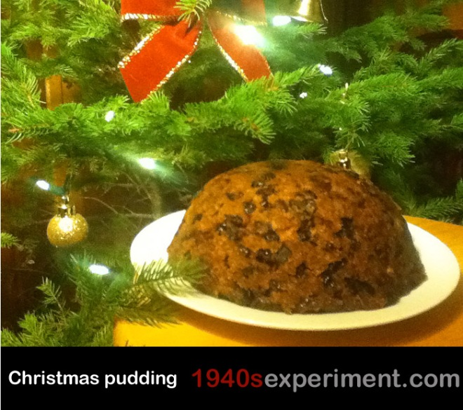1940schristmaspudding