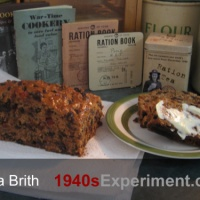 Wartime Bara Brith - Recipe No 110