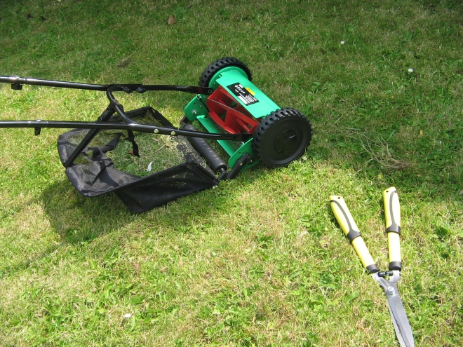 I've always wanted a little push mower and now I've got one. It does a great job!