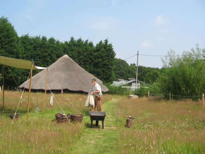 The Iron Age Roundhouse at Woodview Farm