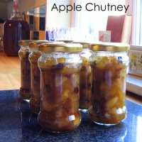 'Air Raid' Apple Chutney - Recipe No 119