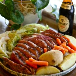 Traditional Corned Beef and Cabbage on Wrappler.com - Click for list!