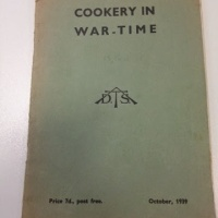 FREE Wartime cook book to download