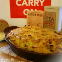 Homity Pie - Recipe No 134