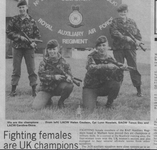 28 years ago with RauxAF Regt 2620 SQN