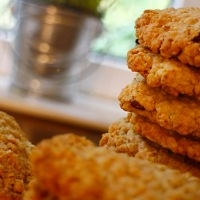 Oaty Biscuits - Recipe No. 163