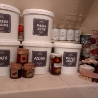 Pantry Makeover - Part 1 + FREE Food Storage Labels.