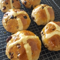 Hot Cross Buns - Recipe No. 187