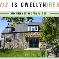 WIN a beautiful stone cottage in North Wales